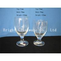 Wholesale clear Water Goblets, wine goblet glass sale from china suppliers