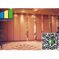 Wholesale Large Pavilion Hall Temporary Foldable Partition Wall High Sound Proof from china suppliers