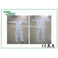 Wholesale Disposable Coveralls Waterproof Nonwoven SMS MP Safety Working Suit from china suppliers