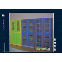 Buy cheap Laboratory Storage Cabinet Solvent Storage Cabinet Tempred Glass Door from wholesalers