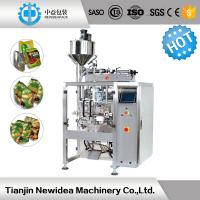 Wholesale 100-1200ML Liquid Packing Machine / Filling And Sealing Machine Stainless Steel from china suppliers