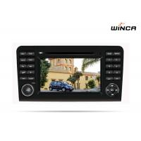 China Full Touch Screen Benz DVD Player For Benz ML Class Rohm BD37534 Audio Processing on sale