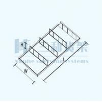 Wholesale 4 Layer Board Crossed Countertop Shoes Display Stand Rack for Store from china suppliers