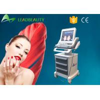 Wholesale Ultrasound Therapy Skin Lifting Machine , Hifu Beauty Machine Skin Tightening / Wrinkle Remover from china suppliers