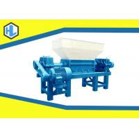 Wholesale Simens Motor Organic Waste Management Shredding Machine With 30 Mm Blade Thickness from china suppliers