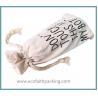 Buy cheap cotton bottle drawstring bag, canvas drawstring bag for bottle from wholesalers