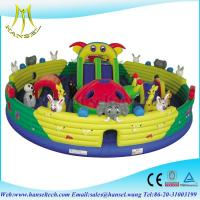 Wholesale Hansel 2015 Affordable attractive inflatable jumping castle slide bouncers from china suppliers