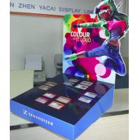 Wholesale Earphones Cardboard Counter Display with pockets / customized table top display stand from china suppliers