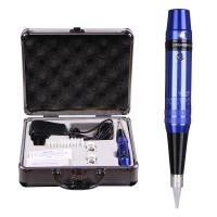 Wholesale Eyebrow Pen Style Tattoo Machine Chargable With Sterilized Makeup Needles from china suppliers