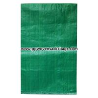 Wholesale Biodegradable Green PP Woven Bags for Packing Limestone / Industrial PP Sacks from china suppliers
