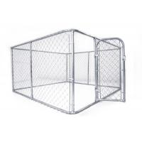 Buy cheap 10x10x6ft Outdoor galvanized chain link extra large dog cage from wholesalers
