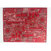 Buy cheap 4 Layer PCB FR4 MultiLayer PCB Board UL Marked RED Solder Mask for Power Supplier from wholesalers