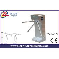Wholesale Entrance Optical Tripod Turnstile Gate / Automated Train Station Turnstile from china suppliers