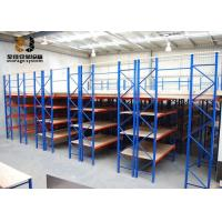 Wholesale Steel Easy Assemble Multi-Level Ral System Light Duty Storage Rack , Color Shelf Storage Racks from china suppliers