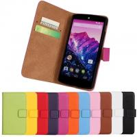 Wholesale Google Nexus 5 LG nexus 5 Real Leather SmartPhone Cell Phone Protective Cases Wallet from china suppliers