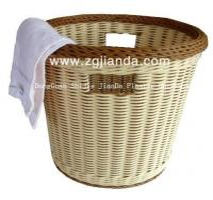 China PP rattan Storage basket plastic on sale