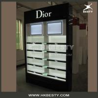 Wholesale High End LED Lightings Wood Display Cabinets in Cosmetics Shop from china suppliers