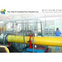 Wholesale One Step Heat Insulation Pipeline / Pipe Production Line DN 25 - DN 350 mm from china suppliers