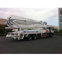 Quality 47m Concrete Pump Trucks 8x4 / Cement Pumping Equipment With Cooling system for sale