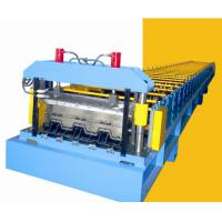 Wholesale 44Kw Metal Deck Roll Forming Machine Roll Former With 10T Hydraulic Decoiler from china suppliers