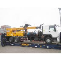 Wholesale Heavy Duty Truck Mounted Water Well Drilling Rigs for 600m depth DTH Rotation Drilling 6X4 from china suppliers