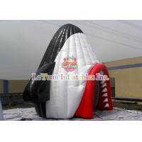 Wholesale Durable Airtight Tent , Colorful Inflatable Party Tent With Shark Mouth from china suppliers