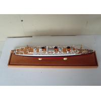 Wholesale Scale 1:900 High End Queen Mary Model , Handcrafted Model Ships For Anniversary Collection from china suppliers