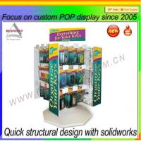 Wholesale Rotating Keychain Display Stand Display Rack Display Shelf Display Holder from china suppliers