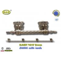 Wholesale metal coffin bar H019  amak Metal Coffin Handles With Steel Bar 30 x 9.5 cm antique bronze color from china suppliers