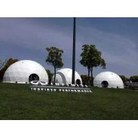 Wholesale Sun Shade Beach Geodesic Dome Tent With 850 Gsm PVC Coated Fabric from china suppliers