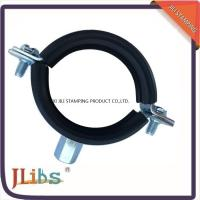 Wholesale Rubber Heavy duty Cast Iron pipe clamp With M8+M10 Combi Nut & Rubber from china suppliers