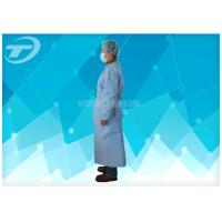 Wholesale PP Coated PE Waterproof Disposable Isolation Gowns Unisex With Different Size from china suppliers