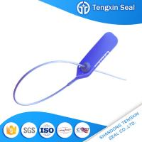 Wholesale TX-PS602 Hot sales tamper proof pull tight lock plastic seal with logo mark in lable from china suppliers