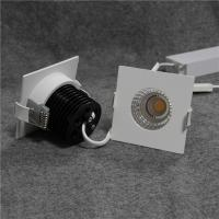 Wholesale Square LED ceiling lights with  fixed structure, 7w, 65mm cutout, non-dimmable from china suppliers