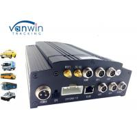Wholesale Vehicle HDD Mobile DVR 4CH AHD 720P , Realtime 3G / 4G wifi car dvr GPS G - sensor from china suppliers