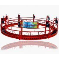 Wholesale Adjustable Electric Round Suspended Platform Cradle for Heavy Duty Construction ZLP630 from china suppliers