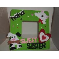 Wholesale 2015 Customized hand made kids Wood Picture Frame/ wooden photo frame from china suppliers
