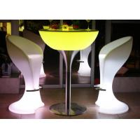 Wholesale Hire Led Cocktail Table , High Bar Illuminated Cocktail Tables Modern Style from china suppliers