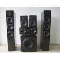 Wholesale Black 5.1 Home Cinema Speakers With Active Subwoofer Super Bass Audio Sound 300W from china suppliers