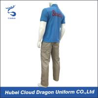 Quality Cool Corporate Security Uniforms For Summer , 65% Polyester 35% Cotton Materials for sale