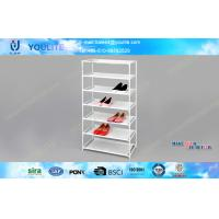 Wholesale Living Room Detachable Metal Shoe Racks 7-tire Shoes Standing Shelf 570*270*1070mm from china suppliers