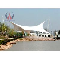 Quality Architectural Shade Sails Park Shade Structures With Membrane Sail UV Resistant for sale