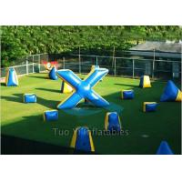 Wholesale Durable PVC Inflatable Paintball Bunkers/ Airsoft Bunkers Combination from china suppliers