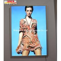 Wholesale Wall Mount Super Slim Aluminum Snap Frame LED Light Box Indoor Decoration from china suppliers