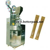Wholesale Double lane sugar stick packing machine, granule sticks packaging machines from china suppliers