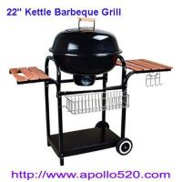 Quality 22'' Kettle Barbeque Grill as charcoal barbecue for sale