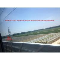 Quality MEGATRO 110KV 1D6-SDJ Double circuit tension terminal type transmission tower for sale