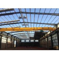 Wholesale ISO 9001 Certification Prefabricated Workshop Buildings With Overhead Crane from china suppliers