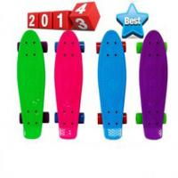 Wholesale Fashionable 22 inch plastic retro cruiser skateboard for Christmas from china suppliers