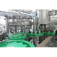 Wholesale 100% Factory   Pull Ring Cover Carbonated water cold Filling Machine (Monobloc Type ) from china suppliers